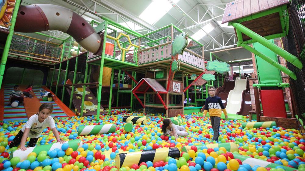 Monkey Jungle Gaziemir Oyun Parkı
